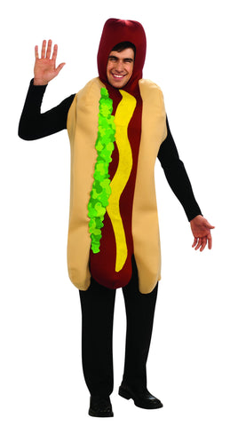 Adults Hot Dog Costume - HalloweenCostumes4U.com - Adult Costumes
