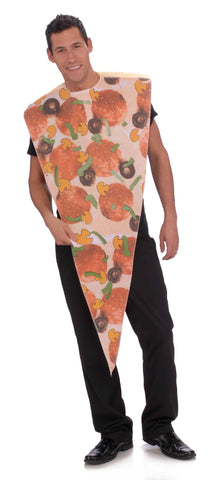 Adult Pizza Slice Costume - HalloweenCostumes4U.com - Adult Costumes