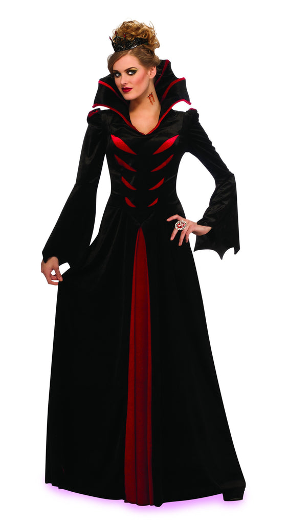 Womens Queen of the Vampires Costume - HalloweenCostumes4U.com - Adult Costumes
