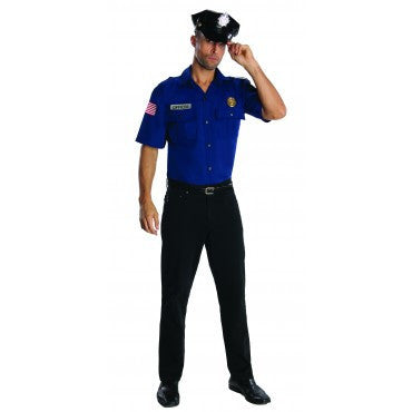Mens Police Officer Costume - HalloweenCostumes4U.com - Adult Costumes