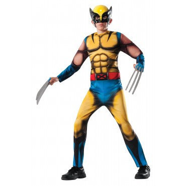 Boys X-Men Deluxe Wolverine Costume - HalloweenCostumes4U.com - Kids Costumes