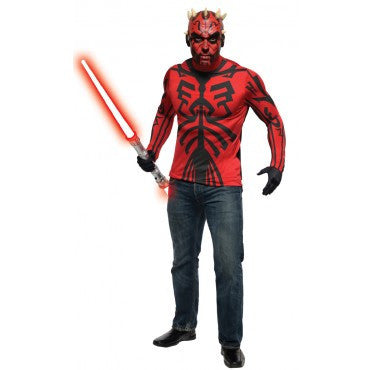 Mens Star Wars Deluxe Darth Maul Kit - HalloweenCostumes4U.com - Adult Costumes