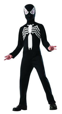 Boys Black Spider-Man Costume