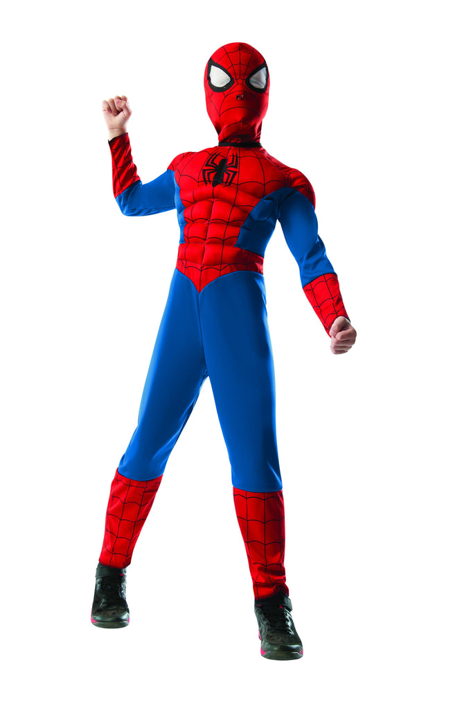 Boys 2-in-1 Reversible Ultimate Spider-Man Costume