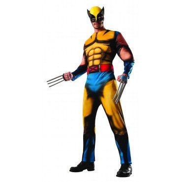 Mens X-Men Deluxe Wolverine Costume - HalloweenCostumes4U.com - Adult Costumes