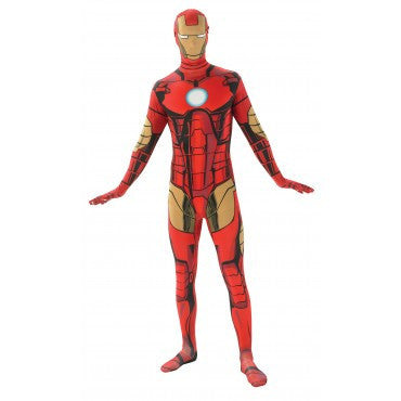 Mens Iron Man Skin Suit - HalloweenCostumes4U.com - Adult Costumes