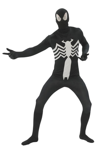 Adults Black Spider-Man Skin Suit