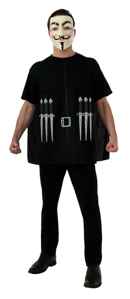 Mens V for Vendetta Costume - HalloweenCostumes4U.com - Adult Costumes