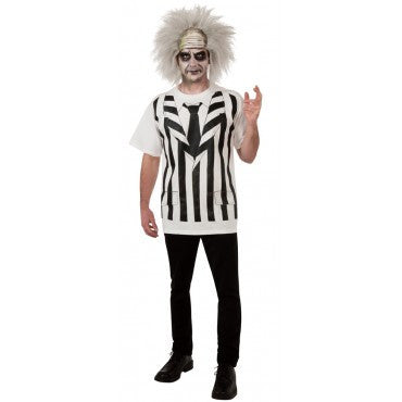 Mens Beetlejuice Costume - HalloweenCostumes4U.com - Adult Costumes