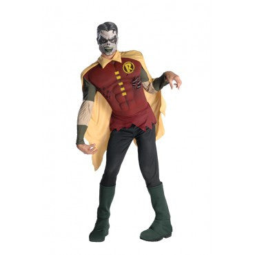 Mens Batman Robin Zombie Costume - HalloweenCostumes4U.com - Adult Costumes