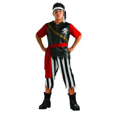 Boys Pirate King Costume - HalloweenCostumes4U.com - Kids Costumes