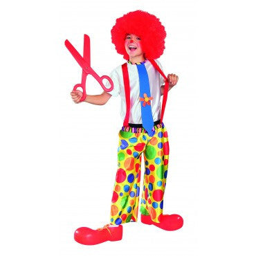 Kids Chuckles the Clown Costume - HalloweenCostumes4U.com - Kids Costumes
