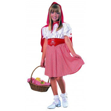 Girls Red Riding Hood Costume - HalloweenCostumes4U.com - Kids Costumes