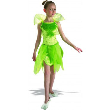 Girls Tinkerbell Costume - HalloweenCostumes4U.com - Kids Costumes