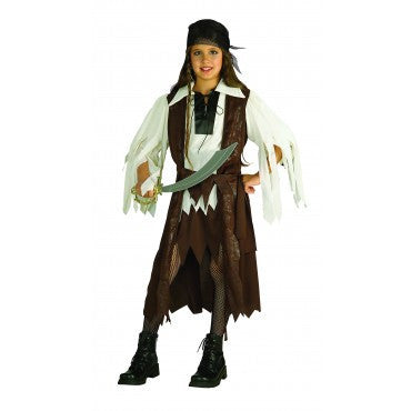 Girls Caribbean Pirate Costume - HalloweenCostumes4U.com - Kids Costumes