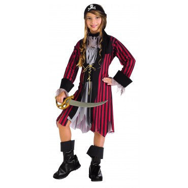 Girls Caribbean Pirate Princess Costume - HalloweenCostumes4U.com - Kids Costumes