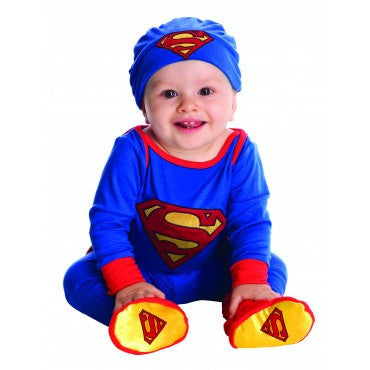 Infants Superman Onesie - HalloweenCostumes4U.com - Infant & Toddler Costumes
