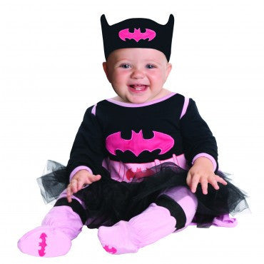 Infants Batman Batgirl Onesie Costume - HalloweenCostumes4U.com - Infant & Toddler Costumes