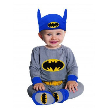 Infants Classic Batman Costume - HalloweenCostumes4U.com - Infant & Toddler Costumes