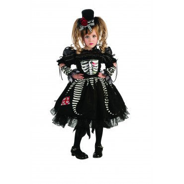 Girls Bones Costume - HalloweenCostumes4U.com - Kids Costumes