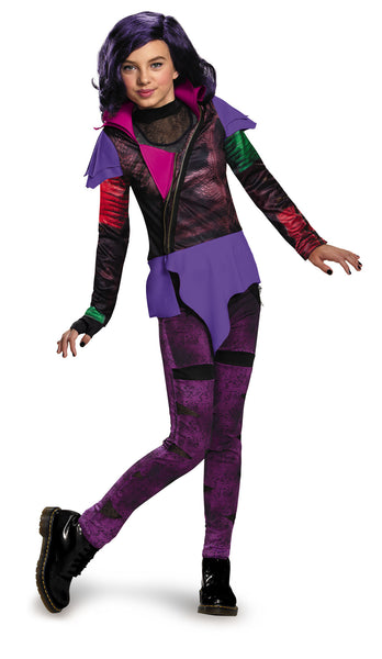 Girls The Descendants Deluxe Mal Costume - HalloweenCostumes4U.com - Kids Costumes - 2