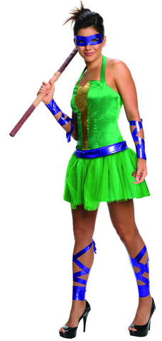 Womens/Teens Ninja Turtles Donatello Costume - HalloweenCostumes4U.com - Adult Costumes