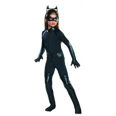 Girls Batman Deluxe Catwoman Costume - HalloweenCostumes4U.com - Kids Costumes