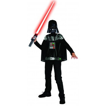 Boys Star Wars Darth Vader Costume Shirt - HalloweenCostumes4U.com - Kids Costumes
