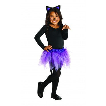 Girls Ballerina Cat Costume - HalloweenCostumes4U.com - Kids Costumes