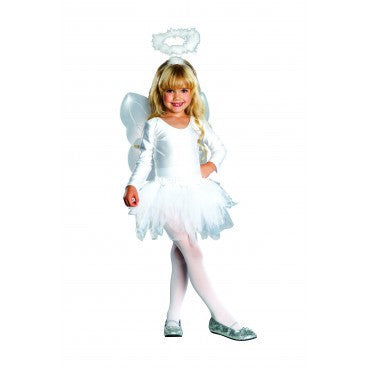 Girls Angel Costume - HalloweenCostumes4U.com - Kids Costumes