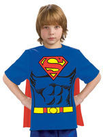 Boys Superman Costume Shirt - HalloweenCostumes4U.com - Kids Costumes