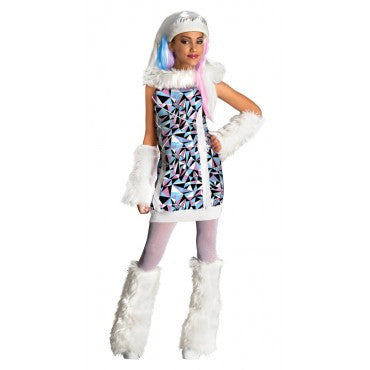 Girls Monster High Abbey Bominable Costume - HalloweenCostumes4U.com - Kids Costumes