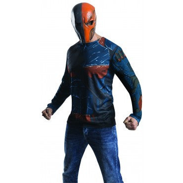 Mens Batman Deathstroke Costume Top - HalloweenCostumes4U.com - Adult Costumes