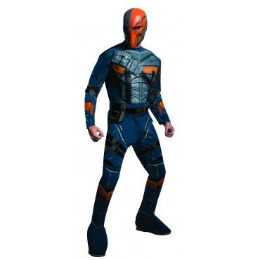 Mens Batman Deluxe Deathstroke Costume - HalloweenCostumes4U.com - Adult Costumes