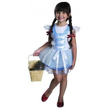 Girls Wizard of Oz Dorothy Tutu Costume - HalloweenCostumes4U.com - Kids Costumes