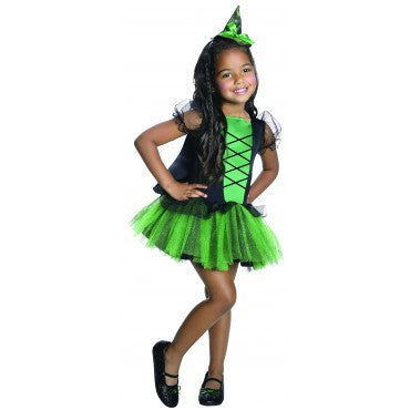 Girls Wizard of Oz Wicked Witch of the West Tutu Costume - HalloweenCostumes4U.com - Kids Costumes