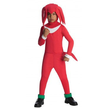 Boys Sonic the Hedgehog Knuckles Costume - HalloweenCostumes4U.com - Kids Costumes
