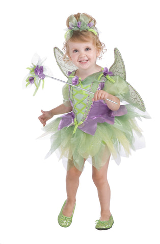 Toddlers Tinkerbelle Tutu Costume - HalloweenCostumes4U.com - Infant & Toddler Costumes