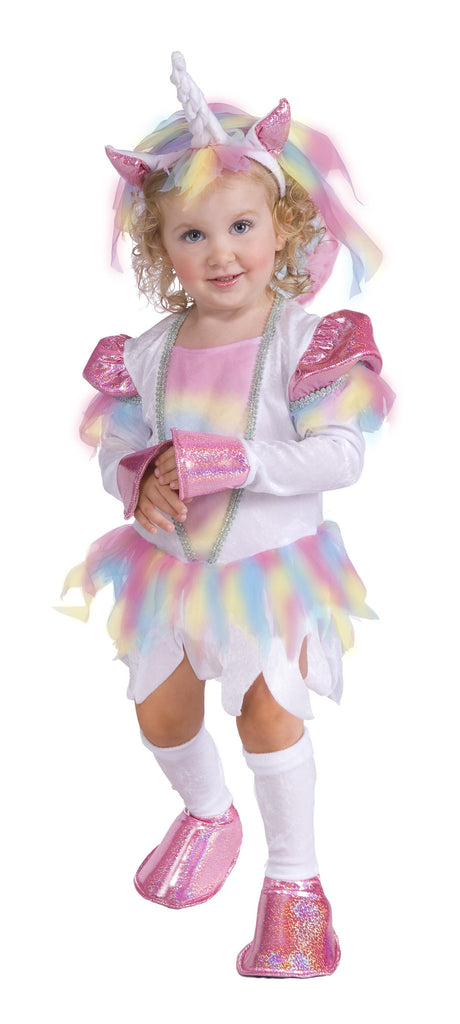 Toddlers Rainbow Unicorn Costume - HalloweenCostumes4U.com - Infant & Toddler Costumes