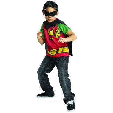 Boys Teen Titans Robin Top - HalloweenCostumes4U.com - Kids Costumes