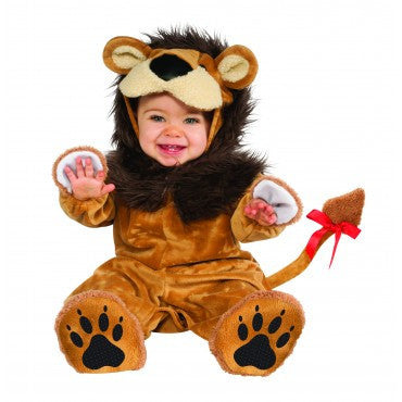 Infants Lil' Lion Costume - HalloweenCostumes4U.com - Infant & Toddler Costumes