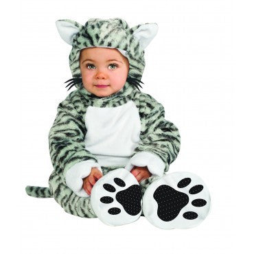 Infants Kitty-Cat-Cutie Costume - HalloweenCostumes4U.com - Infant & Toddler Costumes