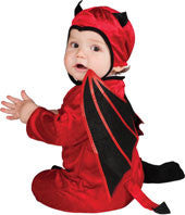 Infants/Toddlers Red Devil Costume - HalloweenCostumes4U.com - Infant & Toddler Costumes