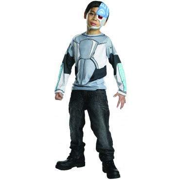 Boys Teen Titans Cyborg Costume Top - HalloweenCostumes4U.com - Kids Costumes