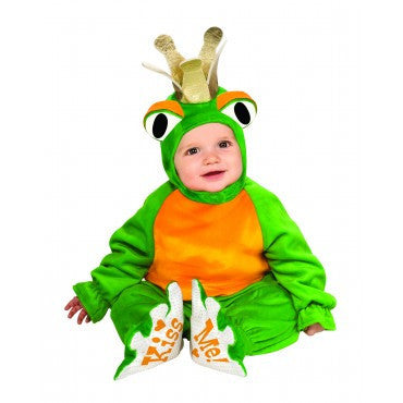 Infants Frog Prince Costume - HalloweenCostumes4U.com - Infant & Toddler Costumes