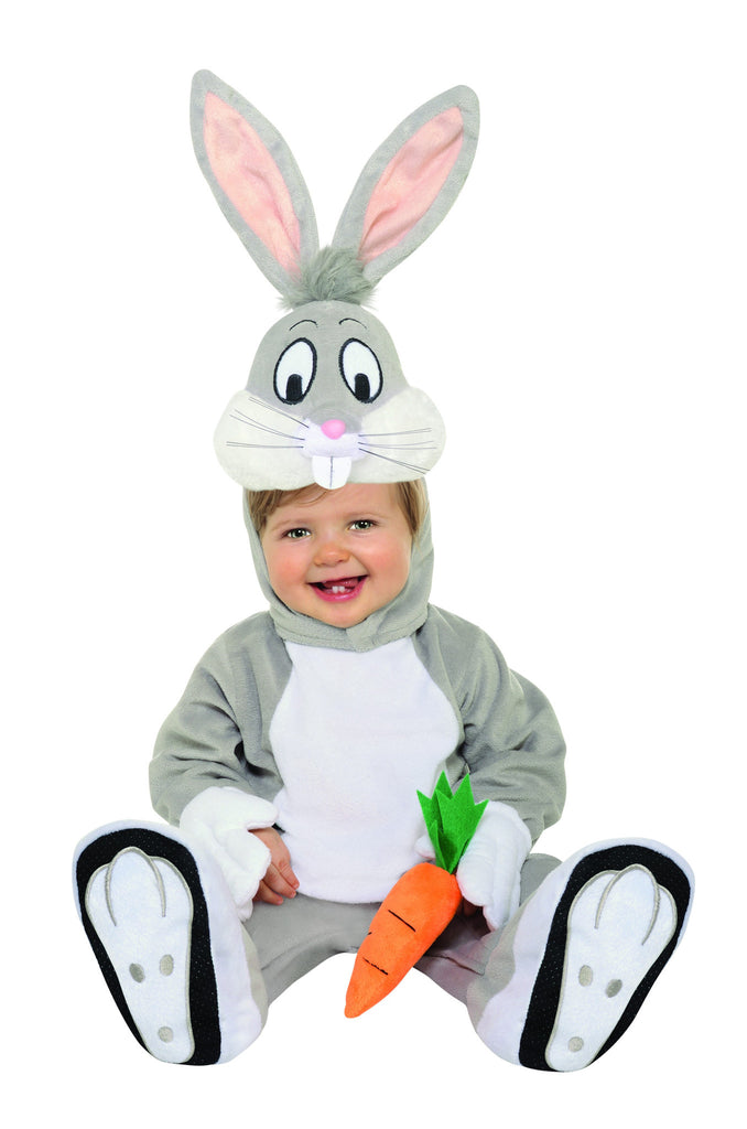 Infants Looney Tunes Bug Bunny Costume - HalloweenCostumes4U.com - Kids Costumes