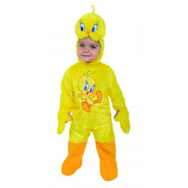 Infants Looney Tunes Tweety Bird Costume - HalloweenCostumes4U.com - Infant & Toddler Costumes