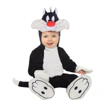 Infants Looney Tunes Sylvester Cat Costume - HalloweenCostumes4U.com - Infant & Toddler Costumes