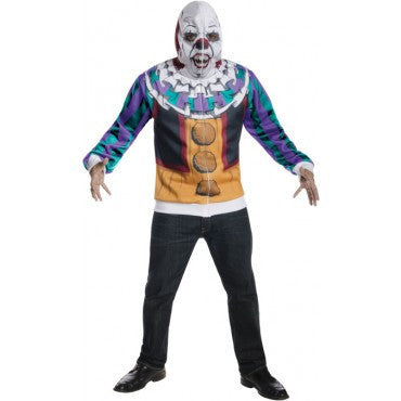Mens/Teens Stephen King's It Pennywise Clown Hoodie - HalloweenCostumes4U.com - Adult Costumes