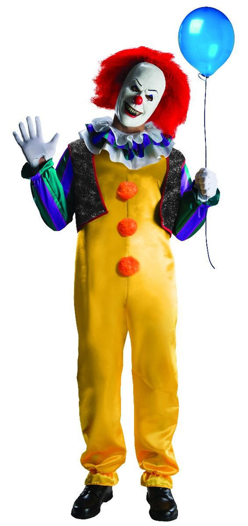 Mens/Teens Stephen King's It Pennywise Clown Costume